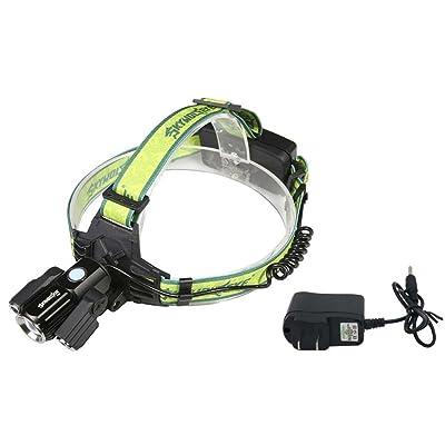 Lumière de bicyclette / Phare LED Zoomable Réglable Focus Phares Phare Détachable Super Léger Anti-Choc Wearproof Facile Transportant Vélo Rechargeable Étanche
