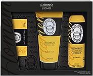 Kit Black Oud Sabonete, Shampoo e Desodorante, Giorno Uomo