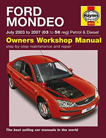 ford mondeo repair manual haynes manual service manual workshop rh amazon co uk Mondeo 2013 Ford Mondeo Interior