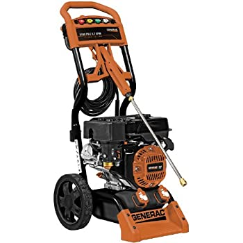 Generac 6598 3,100 PSI 2.7 GPM 212cc OHV Gas Powered Residential Pressure Washer (Discontinued by Manufacturer)