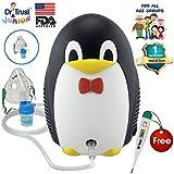 Dr Trust Junior Unisex Compressor Nebulizer Kit With Child And Adult Mask (Black)