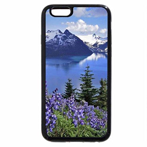 iPhone 6S / iPhone 6 Case (Black) Beautiful Lake