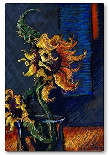 All My Walls  Wild Sunflowers Metal Wall Decor Modern