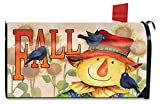 Briarwood Lane Finally Fall Scarecrow Mailbox Cover Autumn Crows Standard