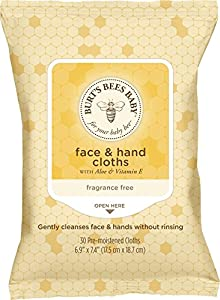 Best Cheap Deal for Burt's Bees Baby Face & Hand Cloths, 30 Count (Pack of 12) (Packaging May Vary) from Burt's Bees - Free 2 Day Shipping Available