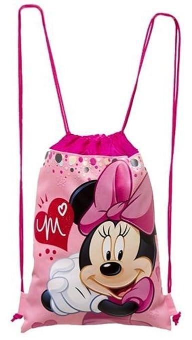 Amazon.com: Mochila con cordón y cordón de Mickey y Minnie ...