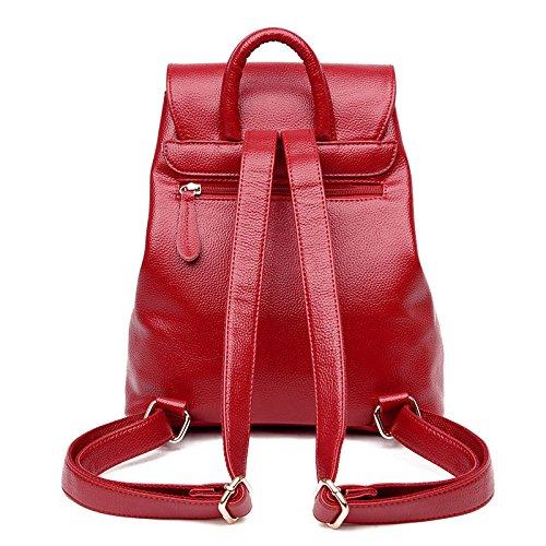 à Sac Décontracté Bandoulière Fashion College Dos Red Tassel Femme ZHXUANXUAN Simple Sac à Aw5xqAzB