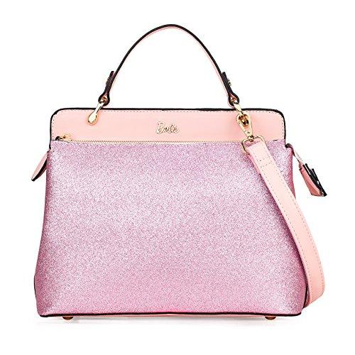 Barbie BBFB534 2017 Colección Nueva Bolsos Mujeres Brillantes de Simple Moderno Rosa