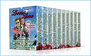book cover of Lovers Lane: 10 Christmas Romances
