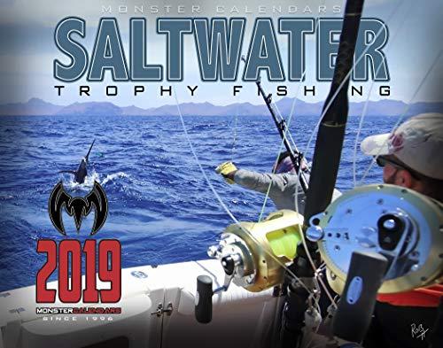 2019 Saltwater Fishing Calendar by Monster Calendars/Robert King