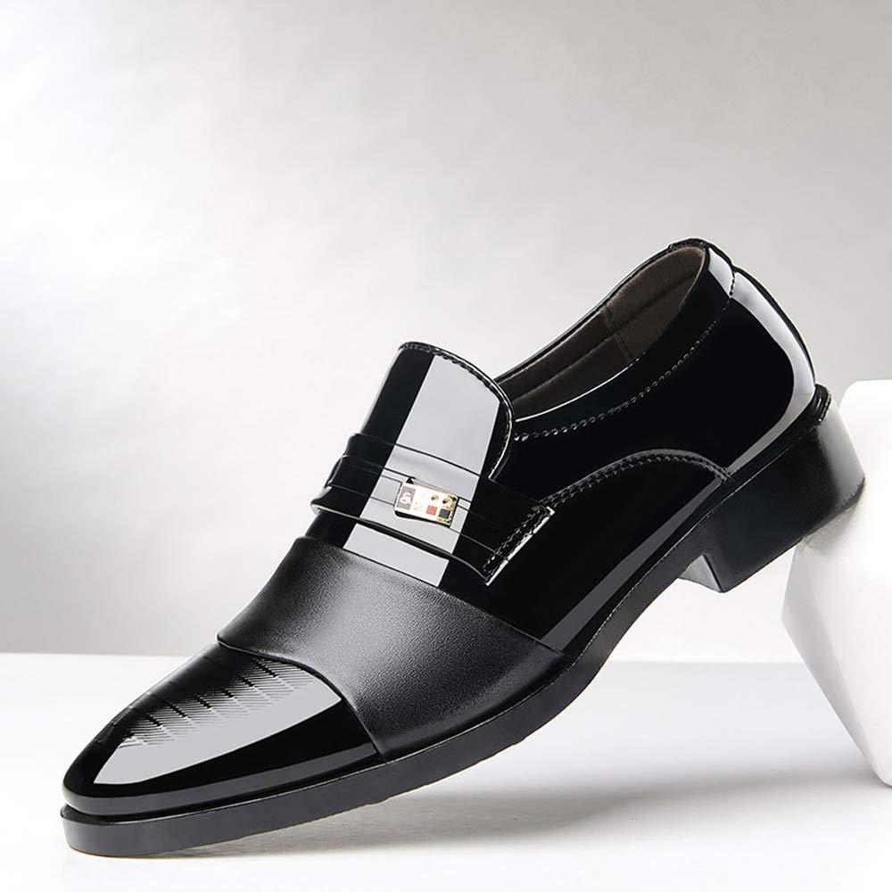 Pandaie-Mens Shoes Men Business Shoes Casual Men Shoes Leather Shoes Fashion Wedding Shoes