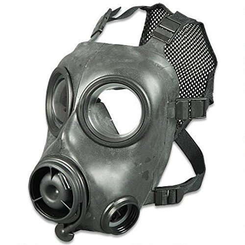 Avon Mask (AVON FM12 Tactical Respirator Gas Mask - EMS Size 2 CBRN - Medium)