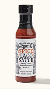 Trader Joe's Organic Spicy Taco Sauce - 2 Bottles