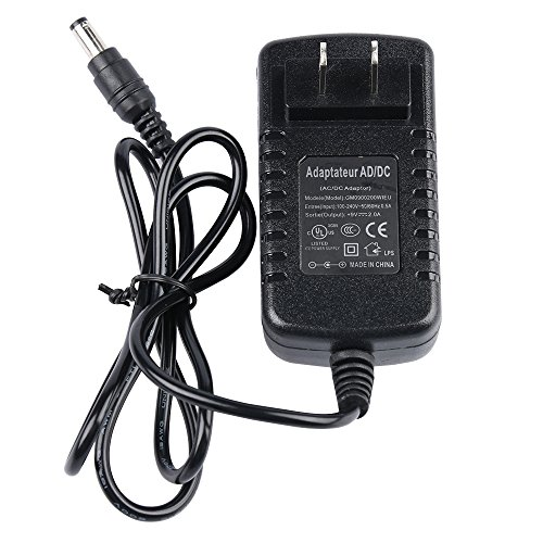 SUPON AC 100-240V 50/60HZ to DC 9V 2A Switching Supply Power Adapter for Video Camera LED Light,SUPON LED-L122T, Viltrox DC-50/DC-70/DC-70II Monitor (2a Switching)
