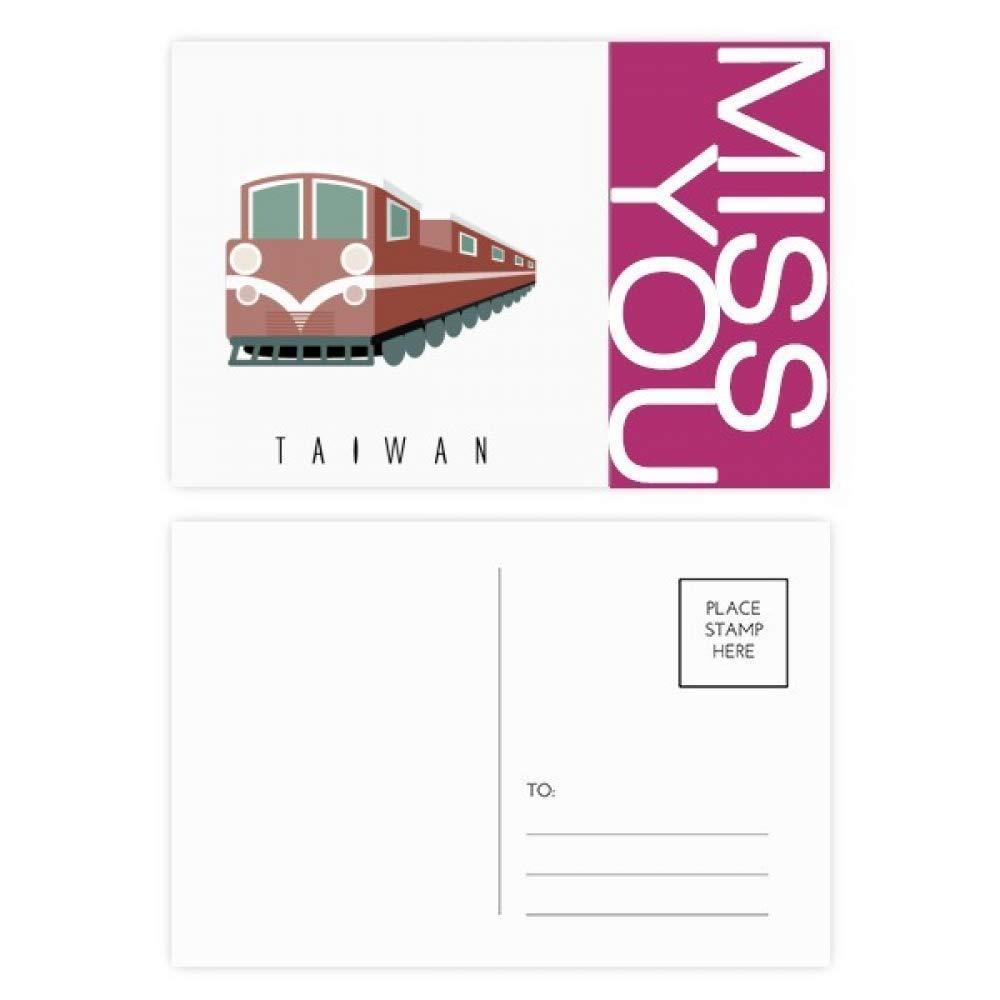 Amazon com : Travel Taiwan Train Miss Postcard Set Thanks