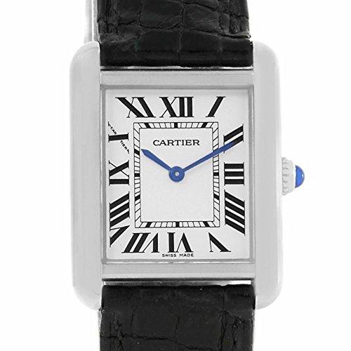 Cartier Tank Solo quartz womens Watch W1018255 (Certified Pre-owned)