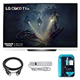 2017 Model OLED65B7A Series B7 Class 65' 4K TV Bundle Includes, 4K HDMI Cable, Surge Protector, Cleaning Cloth