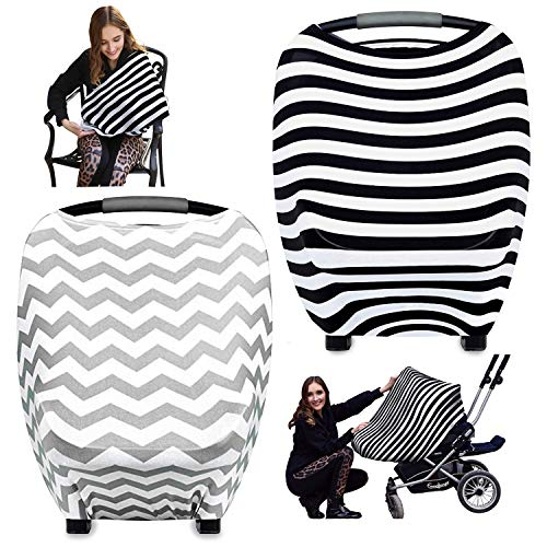 WATINC 2p Nursing Breastfeeding Cover Scarf, Baby Car for sale  Delivered anywhere in Canada