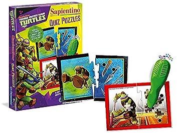 Takestop® Clementoni Quiz Puzzle Sapientino Ninja Turtles ...