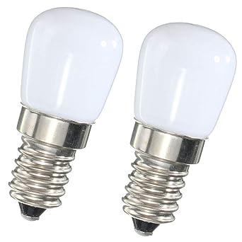 Mini bombilla LED E14 1,5 W SES nevera-congelador lámpara LED SMD ...
