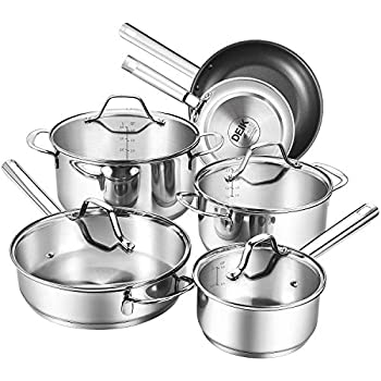 Amazon.com: 6 pc set Stainless Steel 18/10 Germany Mega cook ...