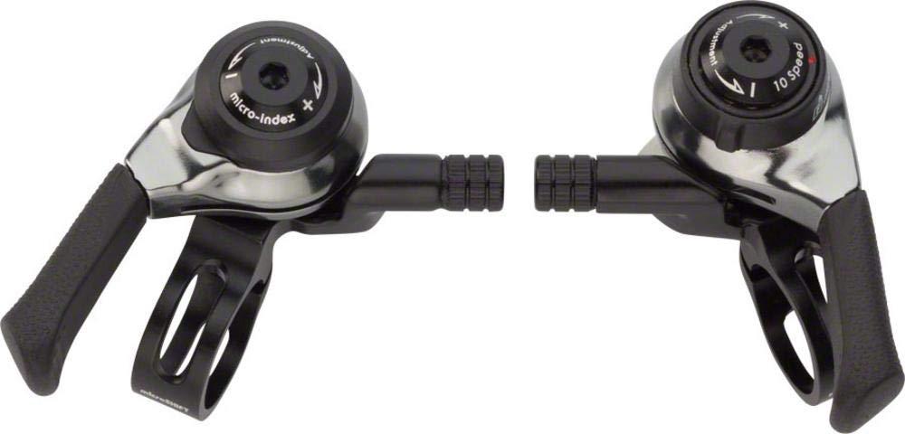Microshift 10-Speed Mountain Bike Flat Bar Thumb Shifters