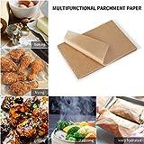 SMARTAKE 200 Pcs Parchment Paper Baking