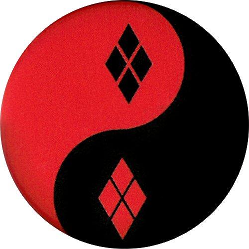 (Harley Quinn - Yin Yang - Pinback Button 1.25