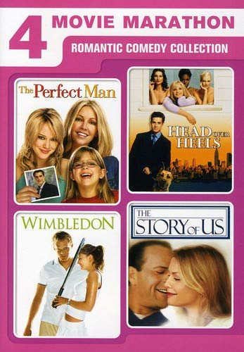 4 Movie Marathon: Romantic Comedy Collection (The Perfect Man / Head Over Heels / Wimbledon / The Story of Us) -