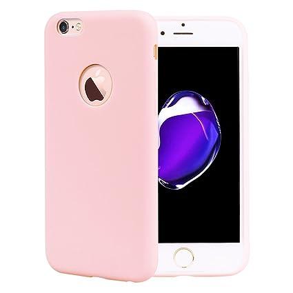 9238ccda7f9 Leton Funda iPhone 6s Plus Silicona Suave Flexible TPU Móvil Carcasa Apple  iPhone 6 Plus Ultra