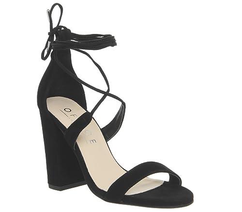 962372c357b Office Hopper Tie Up Block Heel  Amazon.co.uk  Shoes   Bags