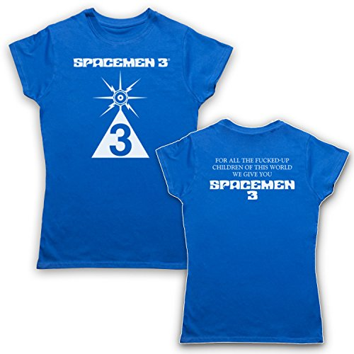Spacemen 3® Record Store Day For All The F***ed Up Children Camiseta para Mujer Azul Real