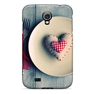 BretPrice SiY6581Iref Case For Galaxy S4 With Nice a??with Lvea?? Appearance