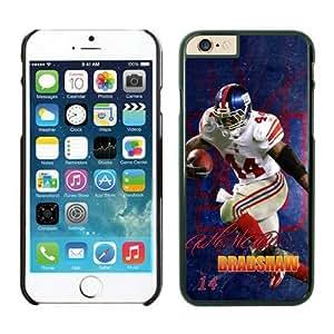York Giants Ahmad Bradshaw Case Cover For Apple Iphone 5C Black NFL Case Cover For Apple Iphone 5C 14239