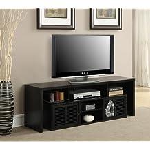Convenience Concepts Designs2Go Modern Lexington 60-Inch TV Stand, Black