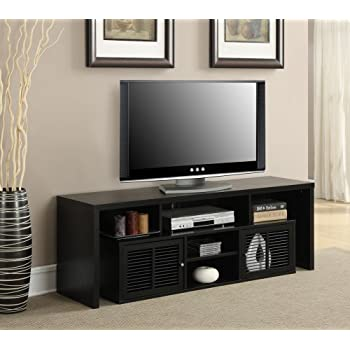 60 tv stands for flat screens porter stand with fireplace convenience concepts modern inch black target