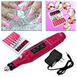 Pen Shape Electric Nail Drill Art Manicure File Polish Buffing Pedicure Tool Set Reviews