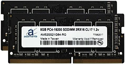 2x8GB NEW 16GB Memory PC4-19200 SODIMM For LAPTOP PC DDR4-2400MHz
