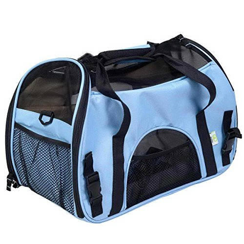 WYFKYMXX Pet Slings Travel Carriers Soft Sided Portable Bags for Dogs and Cats Airline Approved Dog Carrier (482432CM 1150G, 5)
