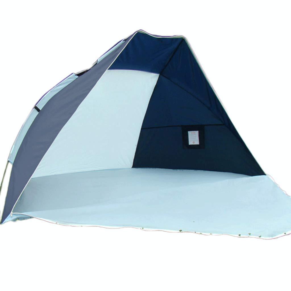 Zelt Professionelle Wasserdichte Manuelle Set Sonnencreme Einzigen Doppel Beach Shade Zelt Fishing Zelt 240  120  120 cm