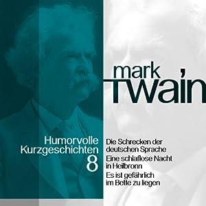 Die Schrecken der deutschen Sprache Hörbuch