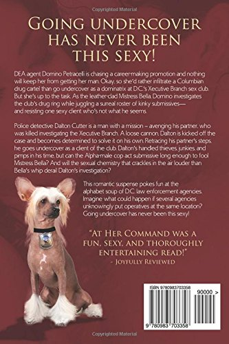 At Her Command: Marcia James: 9780983703358: Amazon.com: Books