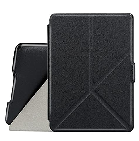MOKAO Fashion Convenient Micro Fiber Leather Origami Deformable Case Cover For Amazon Kindle Paperwhite (Kindle Paperwhite Case Rotating)