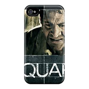 Iphone 4/4s Case Cover - Slim Fit Tpu Protector Shock Absorbent Case (the Square Movie 2010)