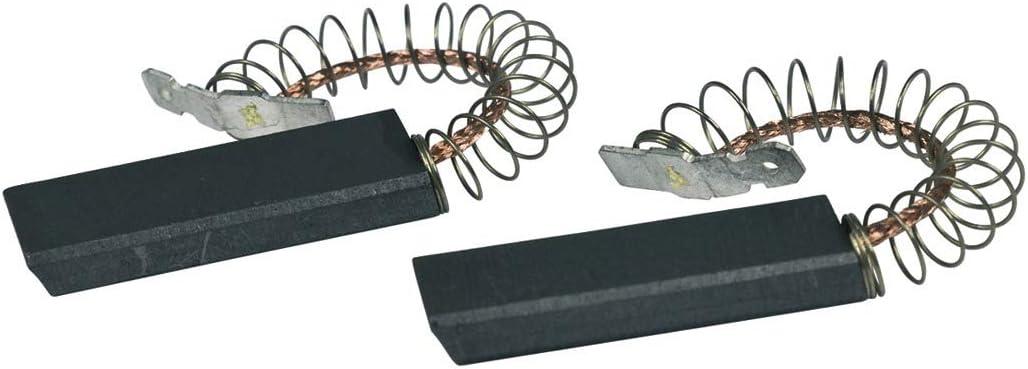 2 Cepillos carbón Carbones motor Varillas carbón Lavadora para ...