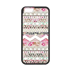 Aztec Tribal Shell Phone for iphone6 Black Cover Phone Case [Pattern-1]