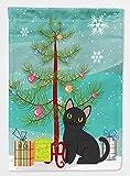 Caroline's Treasures BB4417GF Garden Size Bombay Cat Merry Christmas Tree Flag, Multicolor, small Review
