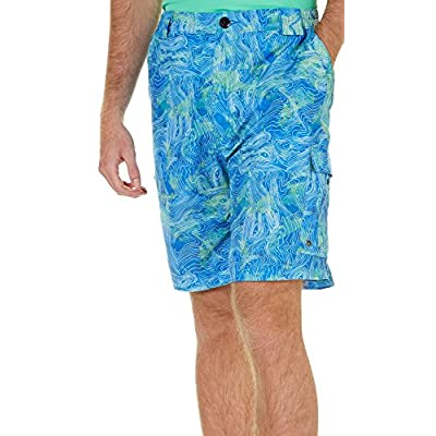 Discount Reel Legends Mens Topowater Bonefish Shorts