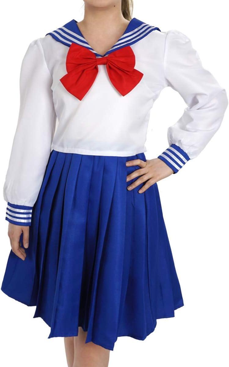 CoolChange Disfraz de Sailor Moon Uniforme Escolar de la Escuela ...