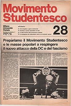 Movimento Studentesco: gennaio 1974 N.28